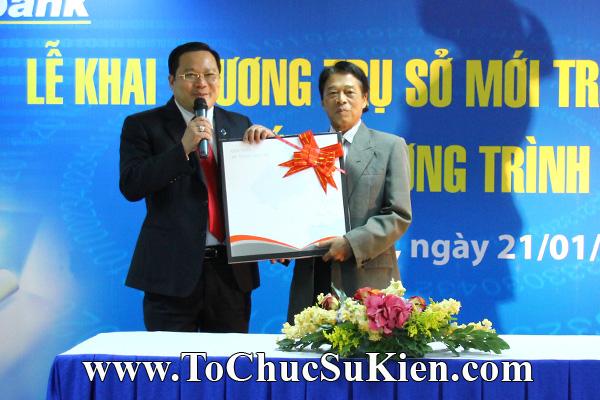 Cung cấp cho thuê thiết bị tổ chức sự kiện Lễ khai trương trụ sở mới Trung tâm đào tạo của Sacombank - 26