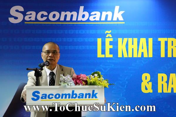 Cung cấp cho thuê thiết bị tổ chức sự kiện Lễ khai trương trụ sở mới Trung tâm đào tạo của Sacombank - 31