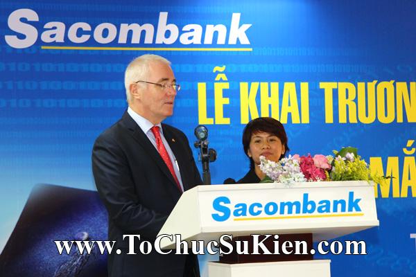 Cung cấp cho thuê thiết bị tổ chức sự kiện Lễ khai trương trụ sở mới Trung tâm đào tạo của Sacombank - 33