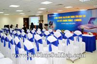 Cung cấp cho thuê thiết bị tổ chức sự kiện Lễ khai trương trụ sở mới Trung tâm đào tạo của Sacombank