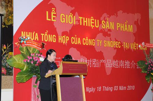 Sự kiện Lễ giới thiệu sản phẩm mới của Cty CPDầu Khí Hóa Chất Trung Quốc SINOPEC - 16