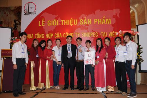 Sự kiện Lễ giới thiệu sản phẩm mới của Cty CPDầu Khí Hóa Chất Trung Quốc SINOPEC - 7