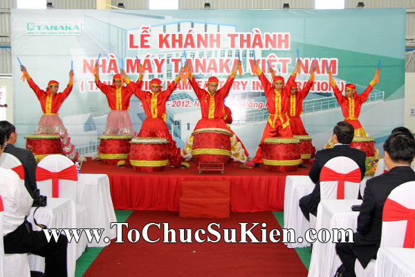 Tổ chức sự kiện Lễ khánh thành nhà máy TANAKA - KCN Nhơn Trạch - Đồng Nai - 11