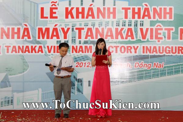 Tổ chức sự kiện Lễ khánh thành nhà máy TANAKA - KCN Nhơn Trạch - Đồng Nai - 14