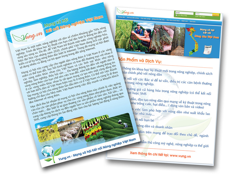 Thiết kế in ấn tờ rơi - Leaflet