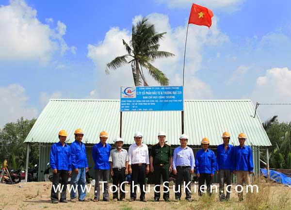 Tổ chức sự kiện động thổ khởi công Cụm kho và Cảng 186 - Giai đoạn I - Cục Xăng Dầu - 27