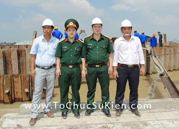 Tổ chức sự kiện động thổ khởi công Cụm kho và Cảng 186 - Giai đoạn I - Cục Xăng Dầu - 29