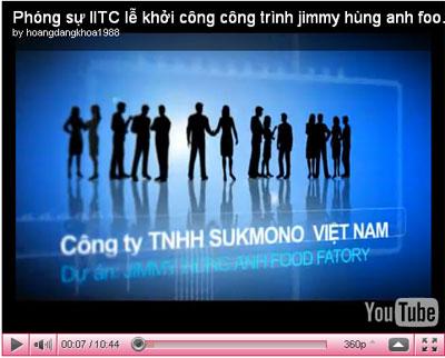 Làm phim phóng sự cho lễ khởi công công trình Jimmy Hùng Anh Food Factory