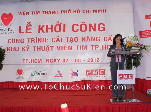 Tổ chức sự kiện Lễ khởi công Công trình cải tạo nâng cấp Khu kỹ thuật Viện Tim Tp.HCM - 11