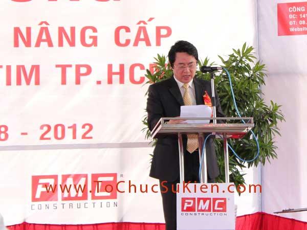 Tổ chức sự kiện Lễ khởi công Công trình cải tạo nâng cấp Khu kỹ thuật Viện Tim Tp.HCM - 20