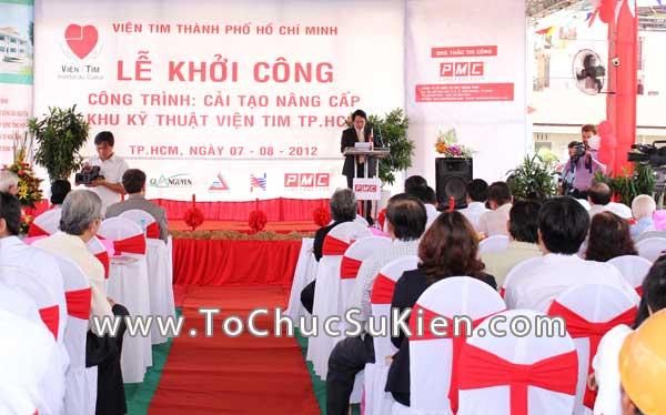 Tổ chức sự kiện Lễ khởi công Công trình cải tạo nâng cấp Khu kỹ thuật Viện Tim Tp.HCM - 21