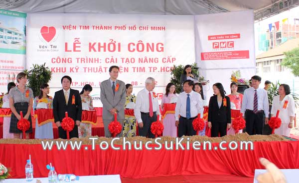 Tổ chức sự kiện Lễ khởi công Công trình cải tạo nâng cấp Khu kỹ thuật Viện Tim Tp.HCM - 22