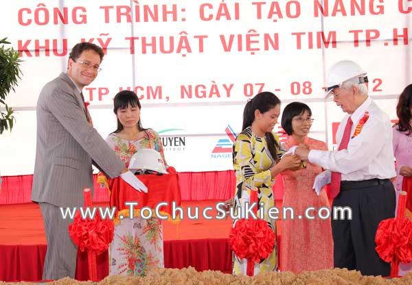 Tổ chức sự kiện Lễ khởi công Công trình cải tạo nâng cấp Khu kỹ thuật Viện Tim Tp.HCM - 23