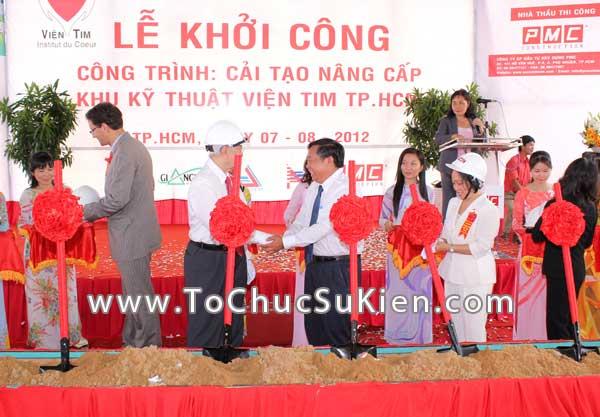 Tổ chức sự kiện Lễ khởi công Công trình cải tạo nâng cấp Khu kỹ thuật Viện Tim Tp.HCM - 26