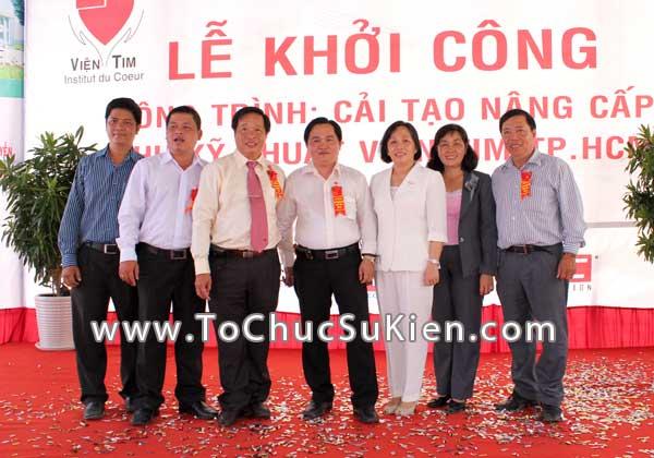 Tổ chức sự kiện Lễ khởi công Công trình cải tạo nâng cấp Khu kỹ thuật Viện Tim Tp.HCM - 29