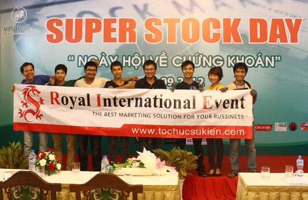 Tổ chức sự kiện Ngày hội chứng khoán Super Stock Day tại Dinh Độc Lập Tp.HCM