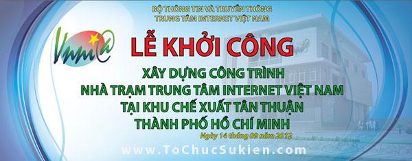 Tổ chức sự kiện động thổ khởi công xây dựng công trình Nhà trạm Trung tâm Internet Việt Nam - VNNIC - 01