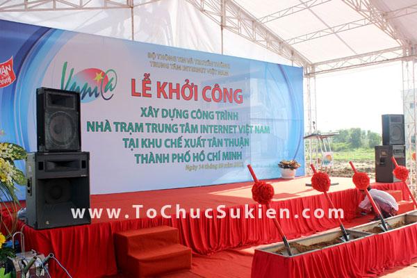Tổ chức sự kiện động thổ khởi công xây dựng công trình Nhà trạm Trung tâm Internet Việt Nam - VNNIC - 02