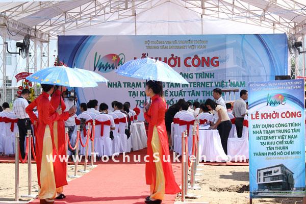 Tổ chức sự kiện động thổ khởi công xây dựng công trình Nhà trạm Trung tâm Internet Việt Nam - VNNIC - 08
