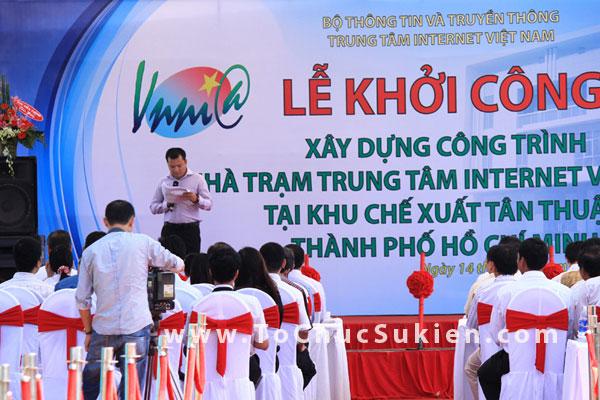 Tổ chức sự kiện động thổ khởi công xây dựng công trình Nhà trạm Trung tâm Internet Việt Nam - VNNIC - 09
