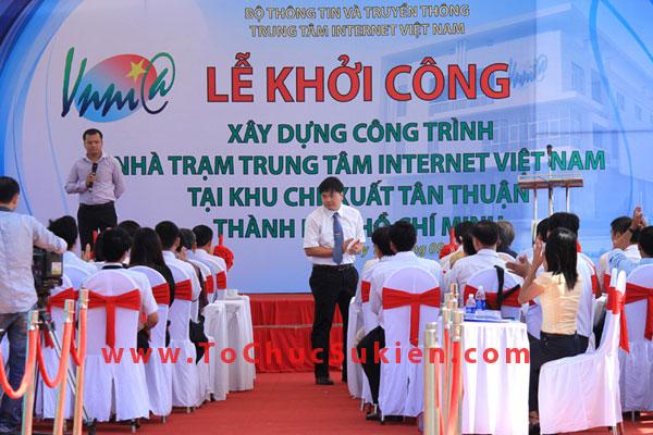 Tổ chức sự kiện động thổ khởi công xây dựng công trình Nhà trạm Trung tâm Internet Việt Nam - VNNIC - 10