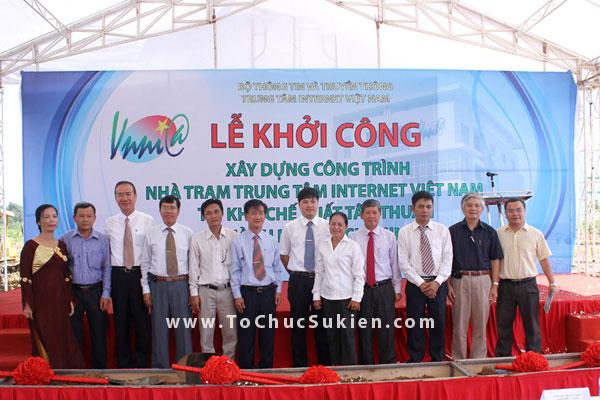 Tổ chức sự kiện động thổ khởi công xây dựng công trình Nhà trạm Trung tâm Internet Việt Nam - VNNIC - 21