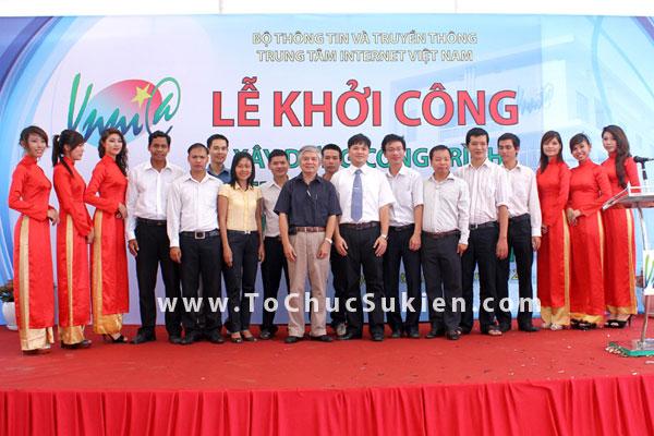 Tổ chức sự kiện động thổ khởi công xây dựng công trình Nhà trạm Trung tâm Internet Việt Nam - VNNIC - 22